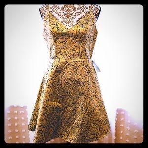 Charlotte Russe Gold Dress